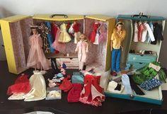 Lot of 1960's Ken, Barbie & Skipper Dolls Japan, Accessories & Cases #Mattel #DollsAccessoriesCase