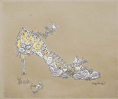 Ventalls: The Shoes for the Women.  Andy Warhol