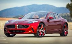 Fisker has unveiled a new electric hybrid car at the New York Auto Show, the Fisker Atlantic luxury sedan.     Unlike Fisker's all-electric supercar, the Fisker Karma, the Atlantic is a far more conventional affair, though the details are still very scarce.     It'll sport Fisker's second-generat...