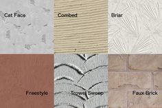 Compare and contrast all the most popular stucco textures and stucco finishes. Learn about decorative stucco and stucco colors and accents. Stucco Siding, Stucco Exterior, Stucco Colors, Siding Colors, Stucco Finishes, Stucco Texture, Backyard Beach, Faux Brick, Traditional Exterior
