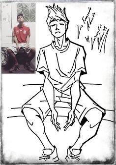 #draw #mangá #arte #technique #desenho #layout #blackandwhite #ilustration #character #design #Caricatura #cartoon #digitalart #art #digital #girl #friend #day #amizade #Luiz #Fernando #Mano #Irmão #LuissandroAlmeida #Metalnude #criations