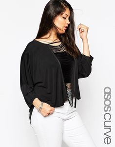 ASOS+CURVE+Laddered+Tunic