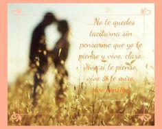 Fragmento de Vives conmigo Por Gabriel González Blog Memorias de Amor y Olvido