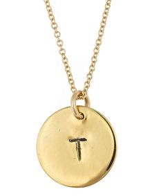 Christie Martin  Initial Necklace