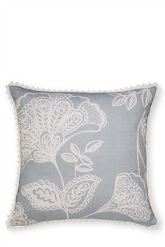 Buy Bali Teal Floral Cushion from the Next UK online shop