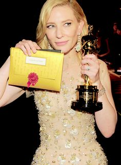 Cate Blanchett Photographs — Cate at The 86th Academy Awards Governor's Ball...