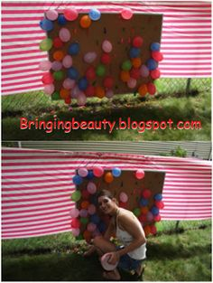 Bringing Beauty: A Carnival Birthday Party
