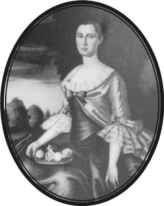 Ann Bolling Randolph Fitzhugh, wife of William Fitzhugh of Chatham (A) & cousin of Thomas Jefferson's. 1747-1805 Mother of Mrs. George Washington Parke Custis.