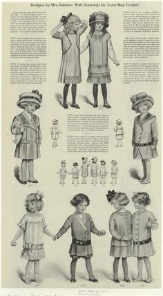 Winter clothes. (1910)