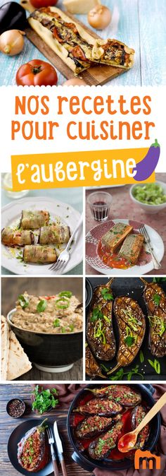 Nos 20 recettes gourmandes pour cuisiner l'aubergine Finger Foods, Eggplant, Barbecue, Salmon, Lunch Box, Food And Drink, Vegan, Beef, Snacks