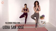 Lidia San José ha hecho con nosotros una clase de yoga con la que se ha preparado para la nueva temporada de Paquita Salas. San Jose, Yoga Fitness, Health Fitness, Pilates Workout Videos, Yoga At Home, Vinyasa Yoga, Yoga Sequences, Yoga Flow, Fitness Exercises