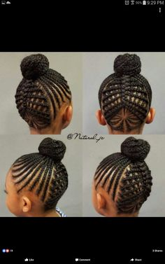 short girl hairstyles for older women pins# 940 Childrens Hairstyles, Lil Girl Hairstyles, Kids Braided Hairstyles, African Braids Hairstyles, My Hairstyle, Natural Hairstyles For Kids, Creative Hairstyles, Natural Hair Styles, Updo