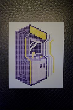 made with a lego letterpress \\