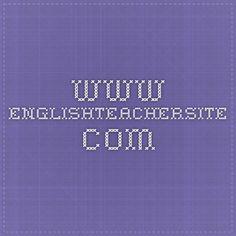www.englishteachersite.com