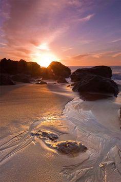 Marshall's Beach Sunset
