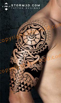 1000 images about digital mockups of my tribal tattoo designs on pinterest shoulder tattoo. Black Bedroom Furniture Sets. Home Design Ideas