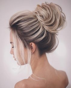 hair ideas color, hairstyle ideas for school, easy hair ideas, hairstyle ideas for long hair #bridalhair #classicbride #beautifulhairdo#hairstylist #bridalhairdo #weddinghair #bun #hairinspiration #updostyle #bridalbun