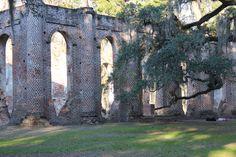 ruins of Sheldon Church