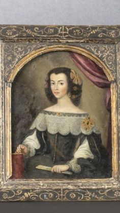 Portrait of a Spanish lady. No further info...