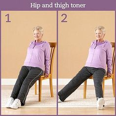 Focus also on pointing and flexing your feet through the ankle joints.  Repeat 15-20 times.  Tip: It may be helpful to lean slightly back in the chair. Be sure to keep your abdominal muscles tight and contracted to support your lower back. Place a small pillow under your lower back for additional support, if necessary.