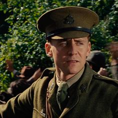 """And then I saw Captain Nicholls in the screenplay and the first line says, 'Captain Nicholls is a tall, kind, compassionate, decent, upper class, gentleman English officer'. And I thought, that might be a nice way to spend my summer."" —Tom Hiddleston"