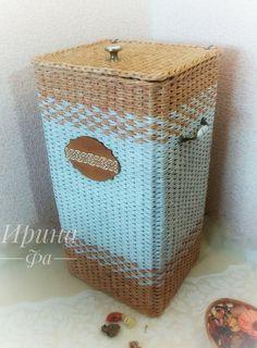 Фотоотчет для Марины: набор из трех корзин - Ярмарка Мастеров - ручная работа…