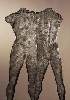 David Begbie Sculpture composition