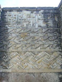 The ruins at Mitla, Oaxaca, Mexico