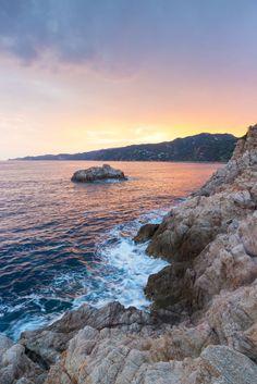 The rocky coast of Costa Brava, Spain #Spain #CostaBrava #Mediterranean