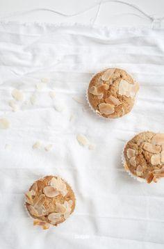 ... hazelnut almond muffins ...