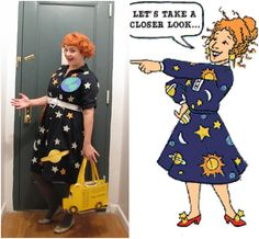 The Infamous Miss Frizzle....Big Smile from the two students (from separate years) who called me Mrs. Frizzle :0)