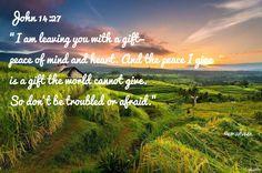 Joh14:27 true peace