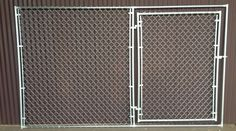 Portable Chain Link Fence Panel with gate