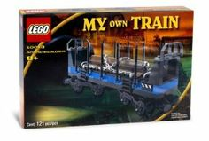LEGO My Own Train Open Freight Wagon (10013) by LEGO. $86.90. Ages 8+. 121 Interlocking Pieces. Move goods across the nation! The open freight wagon is just what you need to carry goods in bulk from one station to another. Hook it up to give your train a more realistic look.