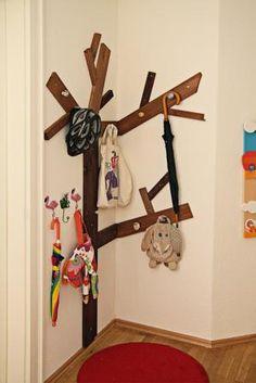 Garderoben Baum - #OBI Selbstgemacht! Blog. Selbstbauanleitung für jedermann. #DIY