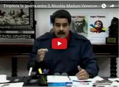 """Maduro amenaza a Donald Trump el nuevo """"Pelucón""""  http://www.facebook.com/pages/p/584631925064466"""