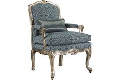 Vincent Bergere Chair at French Heritage
