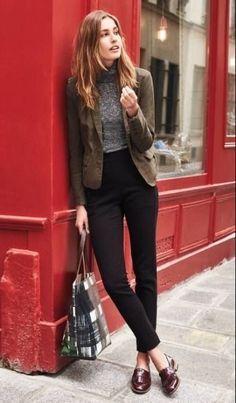 56 Pretty Work Outfits Ideas to Wear This Winter #Fashion  #Women Outfit #Women Outfit
