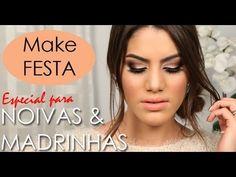 Camila Coelho Youtube, How To Make Hair, Make Up, Makeup Art, Hair Makeup, Make Tutorial, Party Looks, Beauty Hacks, Hair Beauty