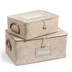 Set due scatole Etichetta