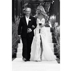 Nikki Phillips in Steven Khalil at her wedding in Bali - stunning! Bali Wedding Dress, Wedding Dresses 2014, Stunning Wedding Dresses, One Shoulder Wedding Dress, Wedding Wishes, Our Wedding, Dream Wedding, Wedding Dreams, Wedding Stuff