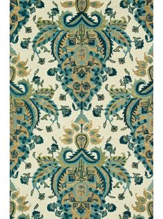 This Taylor Blue Gold Collection rug (HTY05) is manufactured by Loloi. Texture that are easy on the feet as they are on the eyes.
