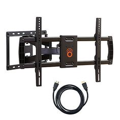 From Echogear Full Motion Articulating Tv Wall Mount Bracket For Most Inch Led Lcd Oled And Plasma Flat Screen Tvs W/ Vesa Patterns Up To 600 X 400 - Extension -