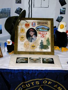 Trail to Eagle for history table  by jvc_scout_mom, via Flickr