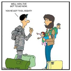 Life as an army wife: you got this, right?!
