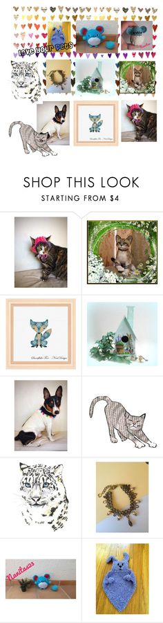 """""""love your pets"""" by nanitas23 ❤ liked on Polyvore featuring interior, interiors, interior design, home, home decor, interior decorating, Del Gatto and Raton"""