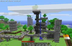 Postcards From Minecraft, Part 2 - Twenty Sided Minecraft Structures, Minecraft Houses, Minecraft Ideas, Amazing Minecraft, The Twenties, Lego, Places, Postcards, Board