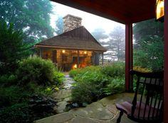 farmhouse porch by John Milner Architects, Inc.