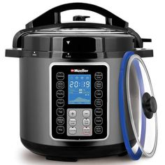 Mueller UltraPot Pressure Cooker Instant Crock 10 in 1 Hot Pot with German ThermaV Tech Cook 2 Dishes at Once Bonus Tempered Glass Lid incl Saute Steamer Slow Rice Yogurt Maker Sterilizer Tools-Gadgets Pieces Appliances Pressure Cooker Reviews, Best Electric Pressure Cooker, Electric Cooker, Instant Pot Pressure Cooker, Pressure Cooking, Rice Cooker, Slow Cooker, Smart Program, Yogurt Maker