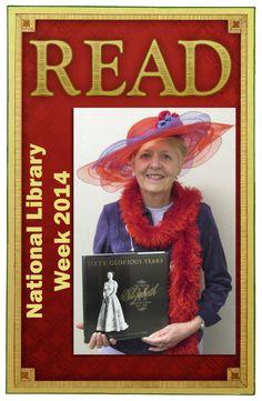 Barbara's READ Poster National Library Week April 13-19, 2014.